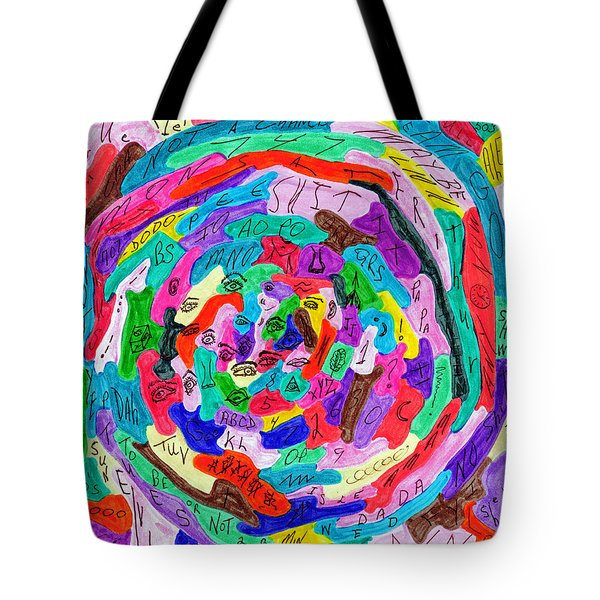 Make Sense Of It All January 1999 Tote Bag by Carl Deaville