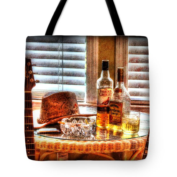 Making Music 001 Tote Bag by Barry Jones