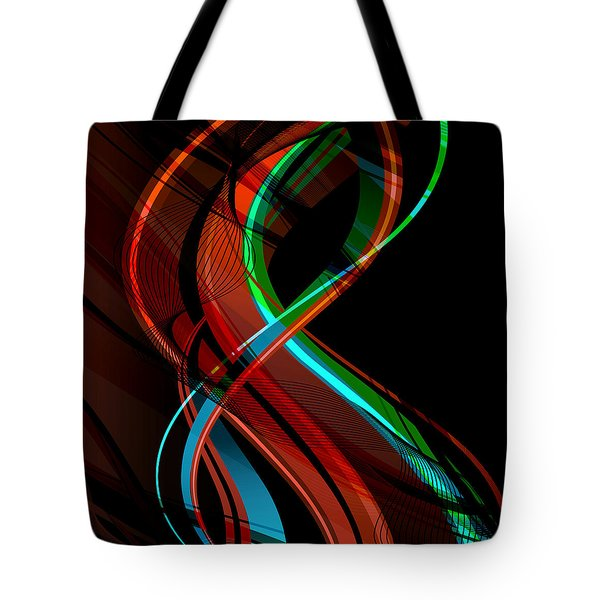 Making Music 1 Tote Bag by Angelina Vick