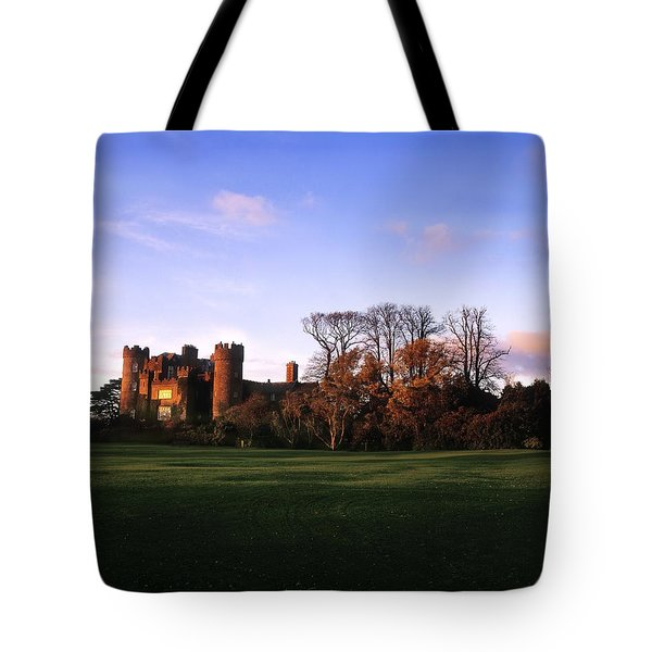 Malahide Castle, Co Fingal, Ireland Tote Bag by The Irish Image Collection