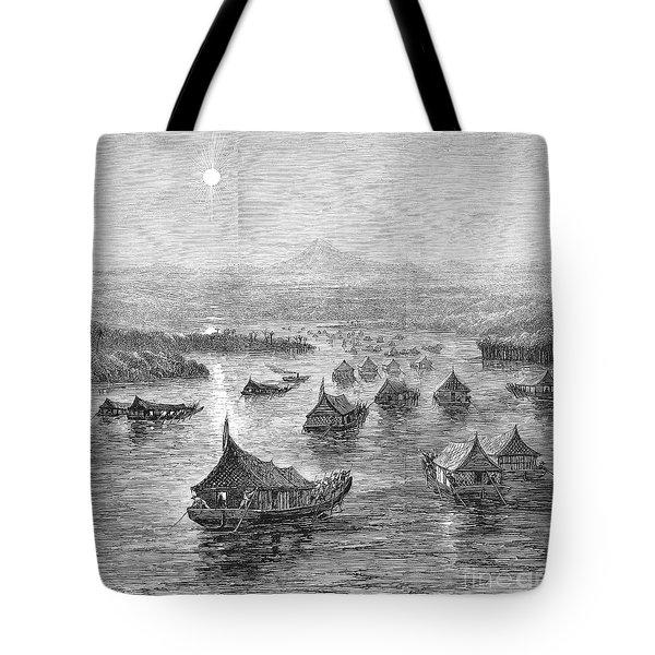 Malaya: Perak River, 1876 Tote Bag by Granger