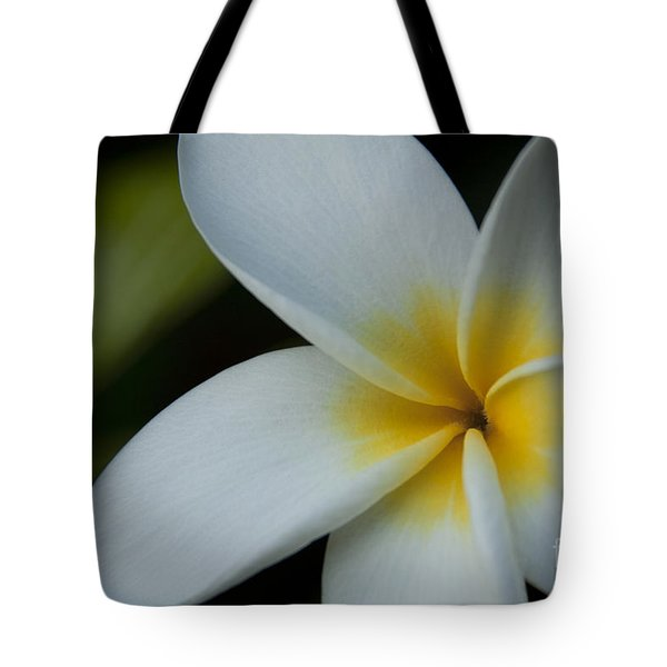 Mana I Ka Lani - Tropical Plumeria Hawaii Tote Bag by Sharon Mau