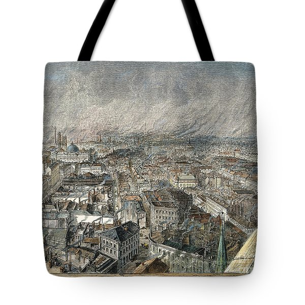Manchester, England, 1876 Tote Bag by Granger