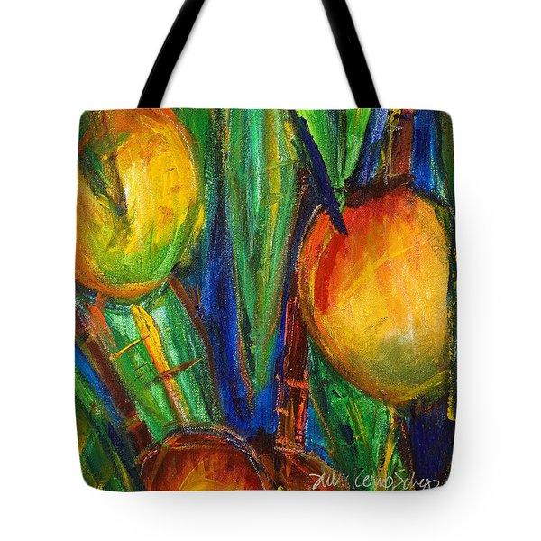 Mango Tree Tote Bag by Julie Kerns Schaper - Printscapes