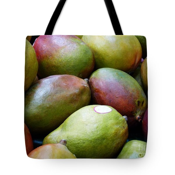 Mangoes Tote Bag by Methune Hively