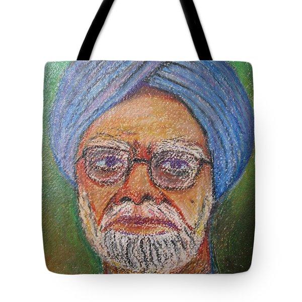 Manmohan Singh Tote Bag by Nedunseralathan R
