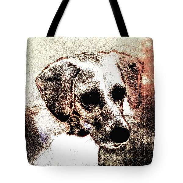 Mans Best Freind Tote Bag by Bill Cannon