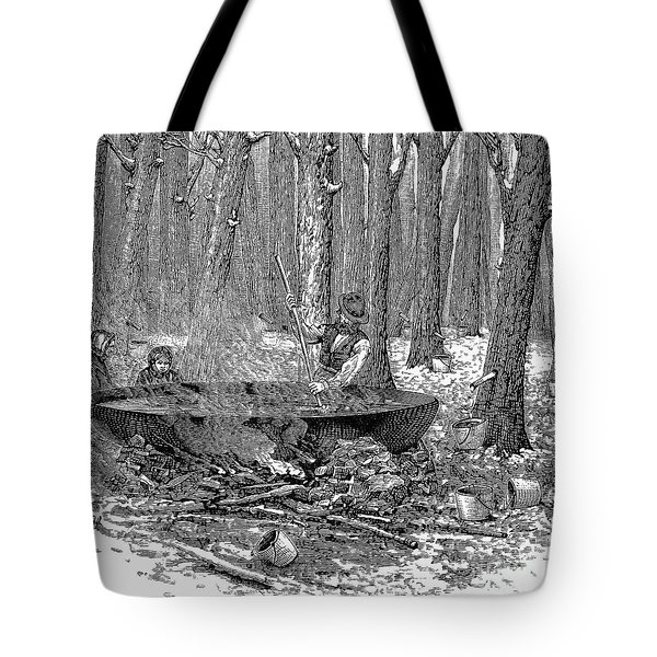 Maple Syrup, 1877 Tote Bag by Granger