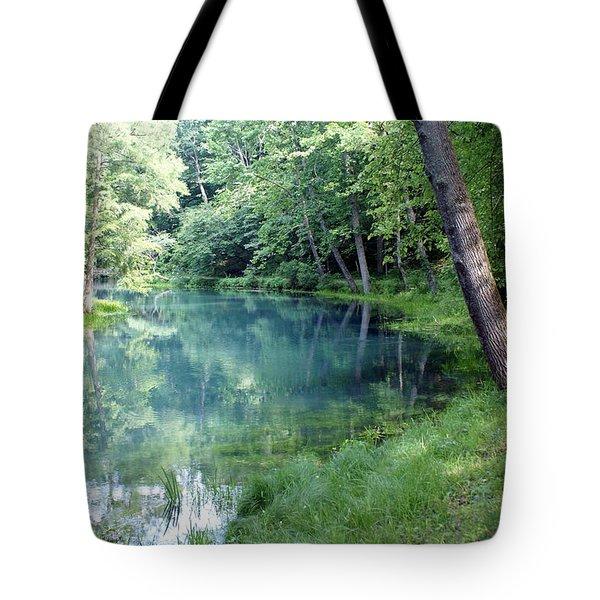 Maramec Springs 1 Tote Bag by Marty Koch