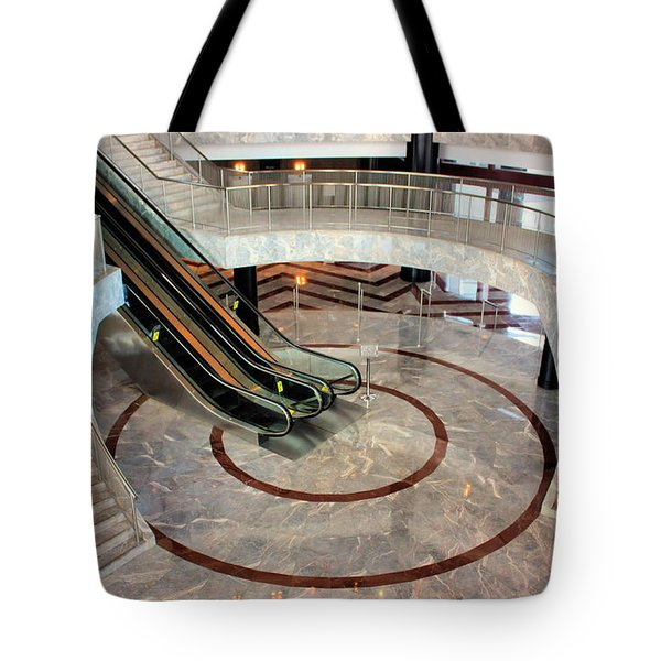 Marble Staircases Tote Bag by Kristin Elmquist
