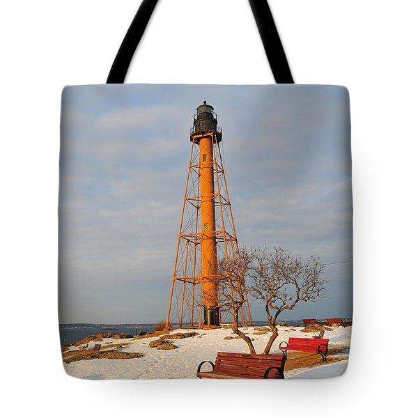 Marblehead Light Tote Bag by Catherine Reusch  Daley