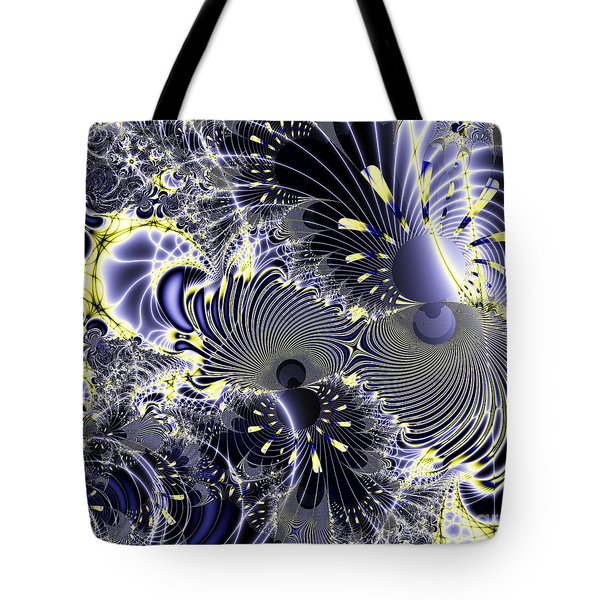 Mardi Gras . Square Tote Bag by Wingsdomain Art and Photography