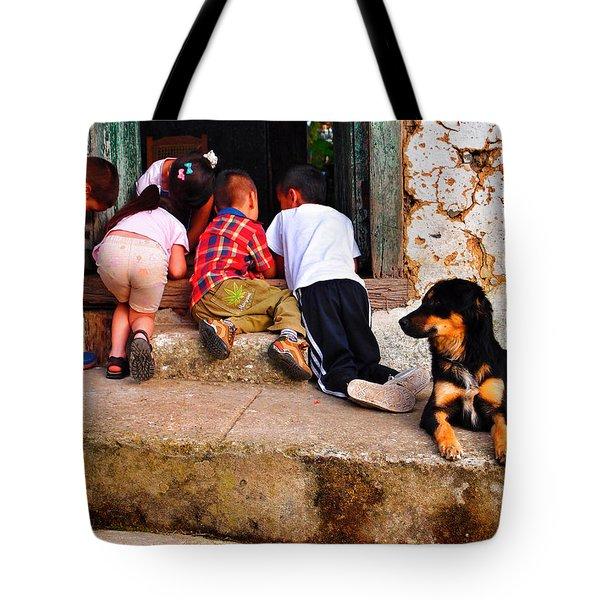 Mariguana Tote Bag by Skip Hunt
