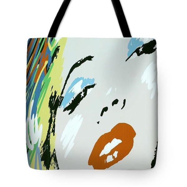 Marilyn In Hollywood Tote Bag by Micah May