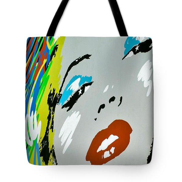 Marilyn Monroe Tote Bag by Micah May