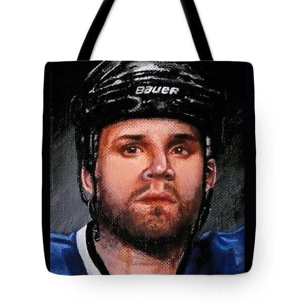 Marty St. Louis Tote Bag by Marlon Huynh