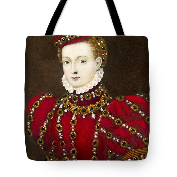 Mary Queen Of Scots Tote Bag by Mary Evans Picture Library and Photo Researchers