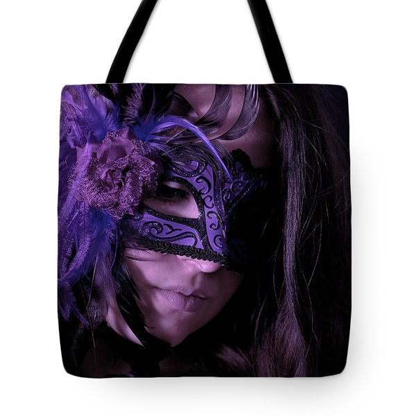 Mask Tote Bag by Joana Kruse