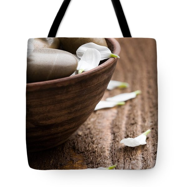 Massage Stones  Tote Bag by Kati Molin