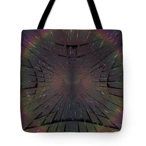 Matrix Tote Bag by Tim Allen