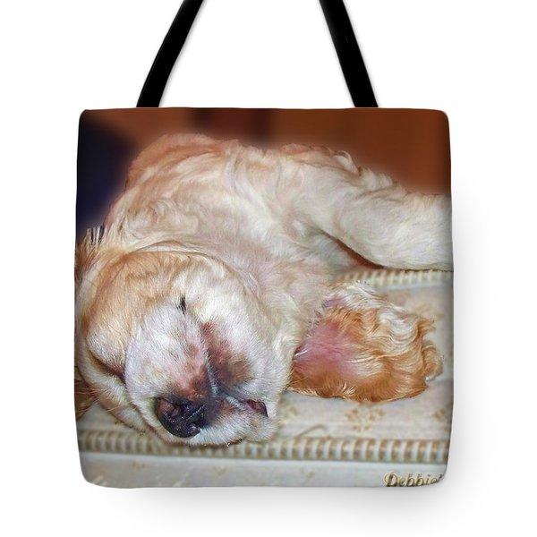 Mattress Tester Tote Bag by Debbie Portwood