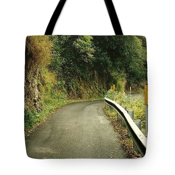 Maui Highway Tote Bag by Marilyn Wilson