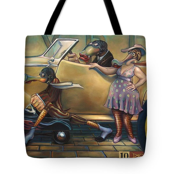 Maybe Maybe Not Tote Bag by Patrick Anthony Pierson