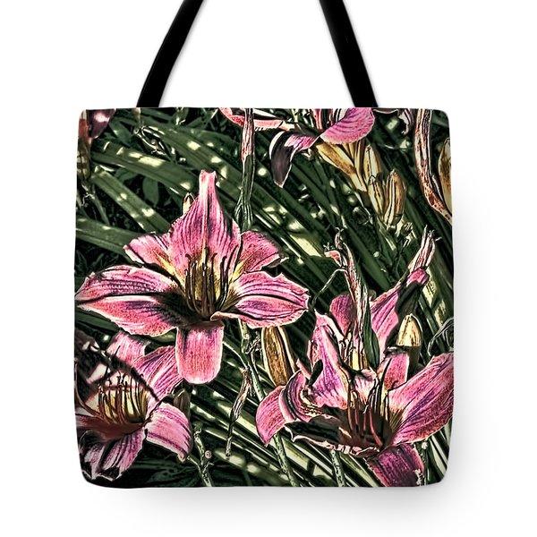 Meadow Sunrise Tote Bag by Tom Prendergast