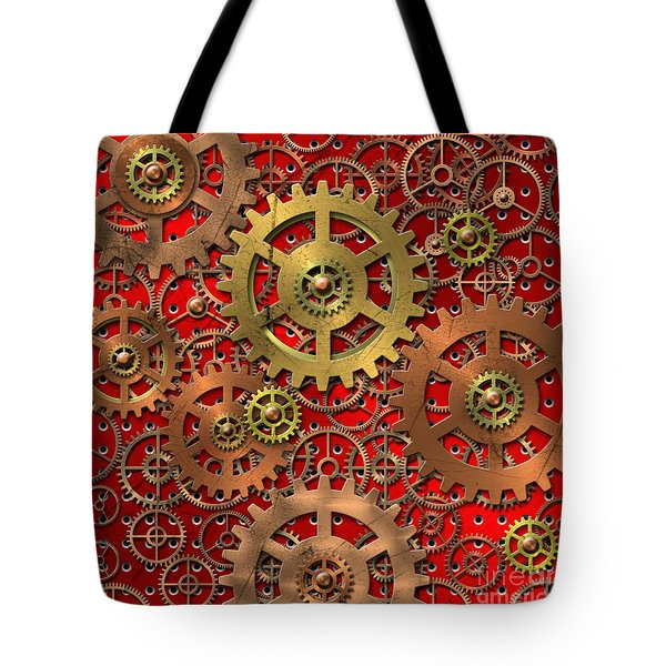mechanism Tote Bag by Michal Boubin