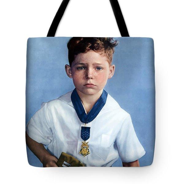 Medal Of Honor Child  Tote Bag by War Is Hell Store