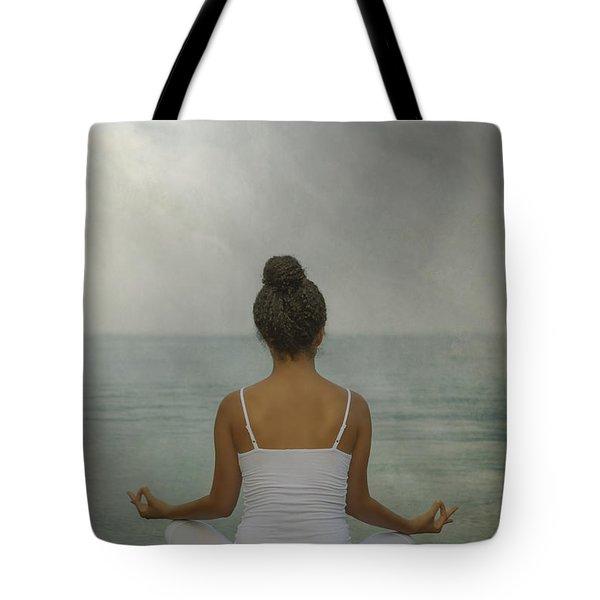 meditation Tote Bag by Joana Kruse