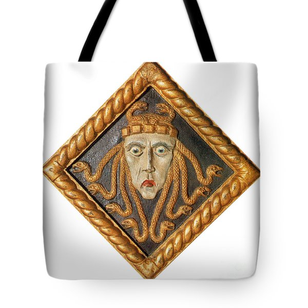 Medusa Tote Bag by Photo Researchers