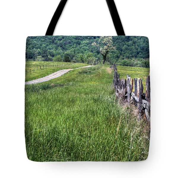 Meet me at the Tree V Tote Bag by JC Findley