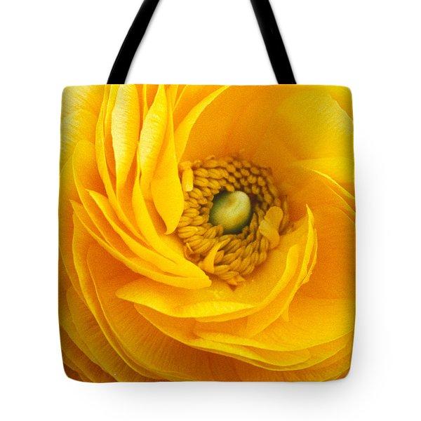 Mellow Yellow Tote Bag by Kathy Yates