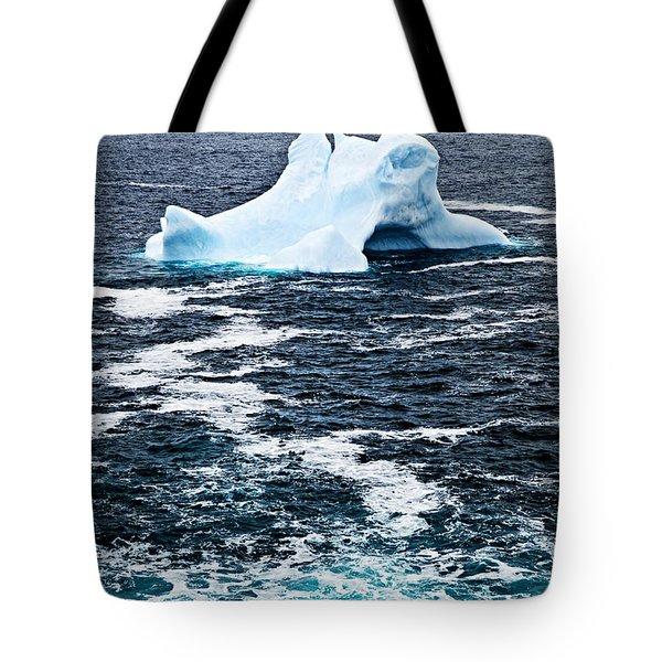 Melting Iceberg Tote Bag by Elena Elisseeva