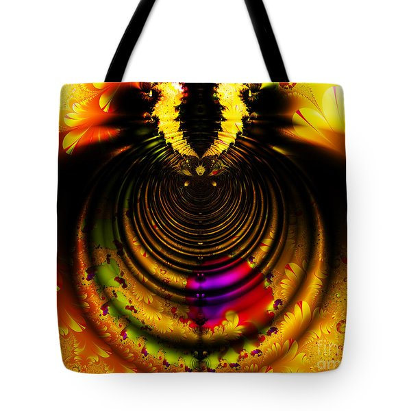 Melting Pot . Gold . Horizontal Cut . S8a.S11 Tote Bag by Wingsdomain Art and Photography