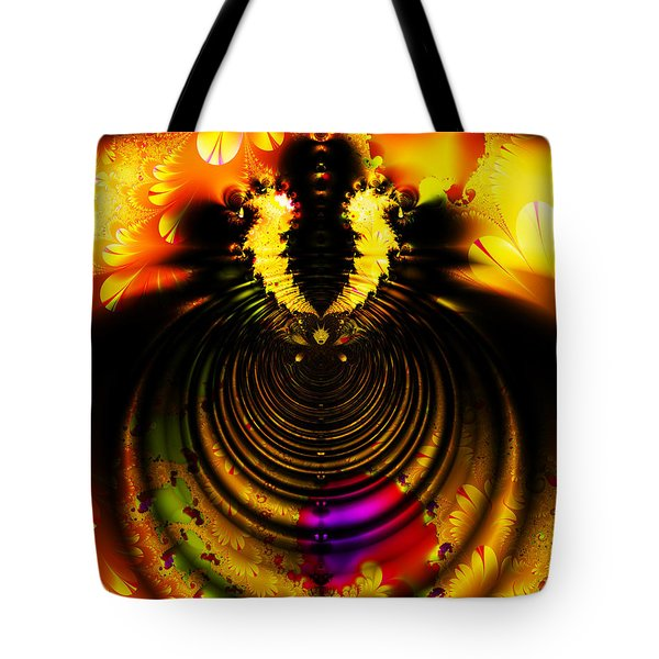 Melting Pot . Gold . S8a.S11 Tote Bag by Wingsdomain Art and Photography