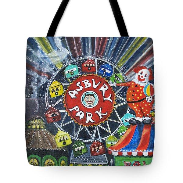 Memories Of Asbury Park  Tote Bag by Patricia Arroyo