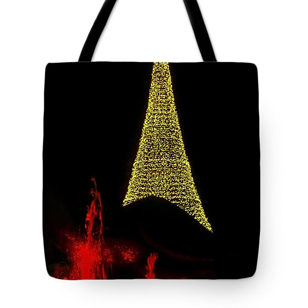 Merry Christmas ... Tote Bag by Juergen Weiss