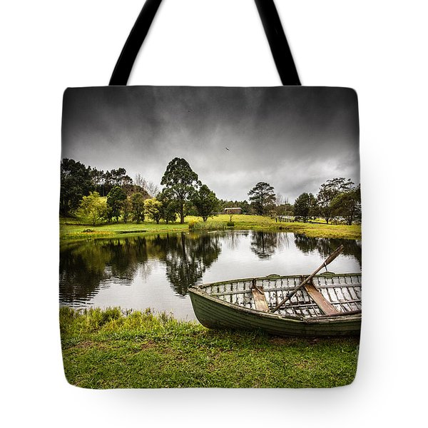 Messing About In A Boat Tote Bag by Avalon Fine Art Photography
