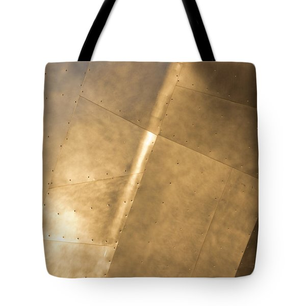 Metal Tote Bag by Heidi Smith