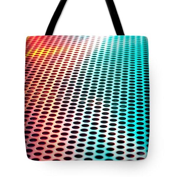 Metal sheet Tote Bag by Tom Gowanlock