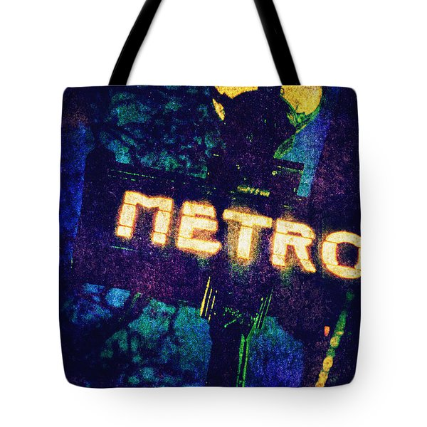 Metro Tote Bag by Skip Nall