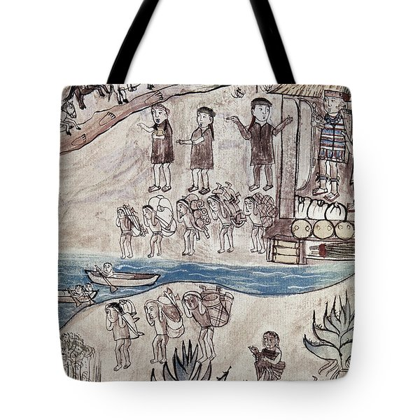 Mexico Indians C1500 Tote Bag by Granger