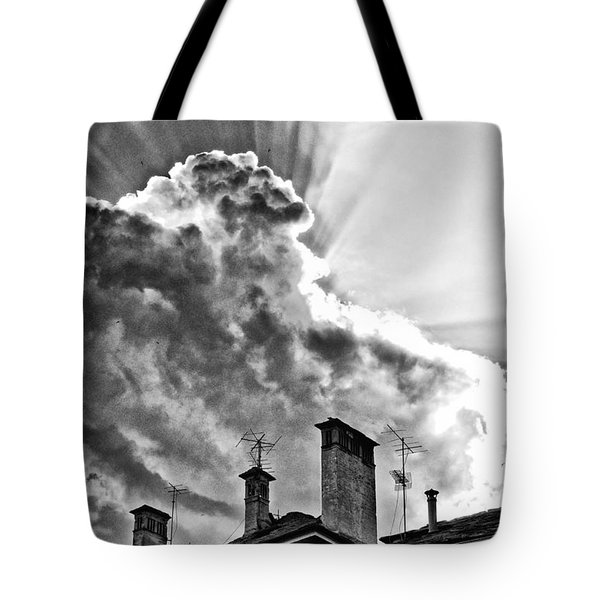 Mid Summer Evening Tote Bag by Silvia Ganora