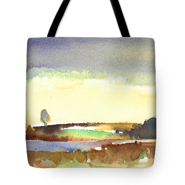Midday 27 Tote Bag by Miki De Goodaboom