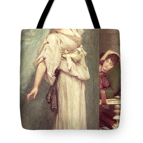 Midday Slumbers  Tote Bag by Sir Lawrence Alma-Tadema