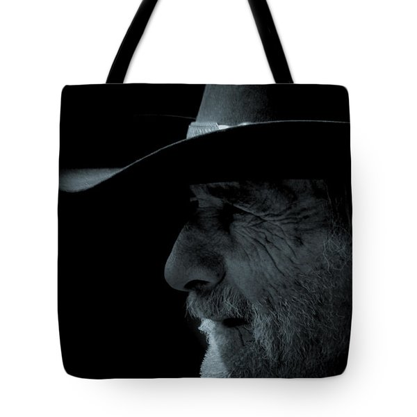Midnight Cowboy Tote Bag by Christine Till