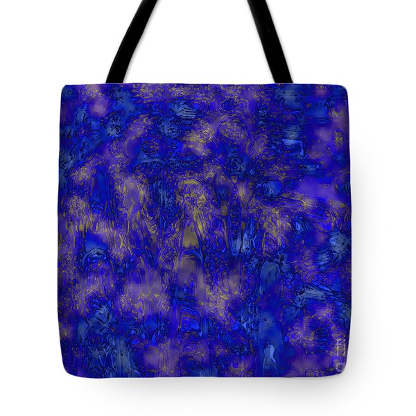 Midnight Magic Tote Bag by Carol Groenen