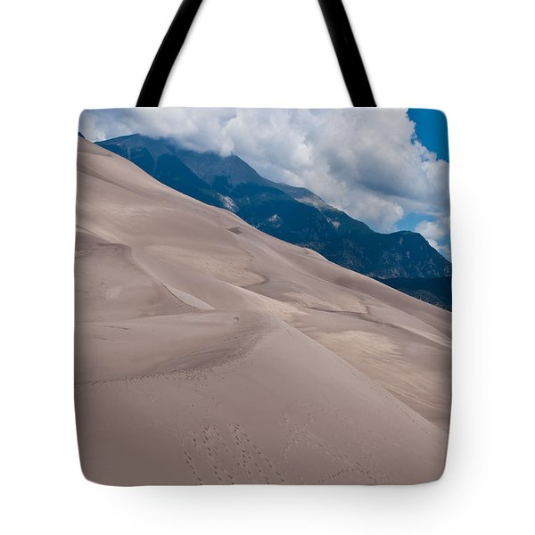 Miles Of Sand Tote Bag by Colleen Coccia